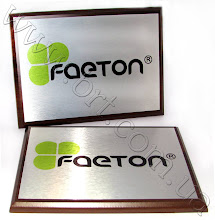 Photo: Табличка на двери офиса. Заказчик: Компания Фаетон-Групп (производителm ореховой продукции и сухофруктов)