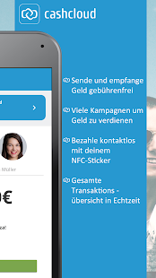 Cashcloud Wallet – Miniaturansicht des Screenshots