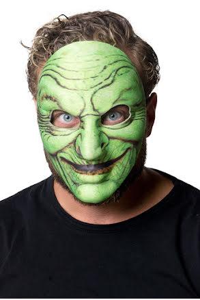 Mask, grön häxa