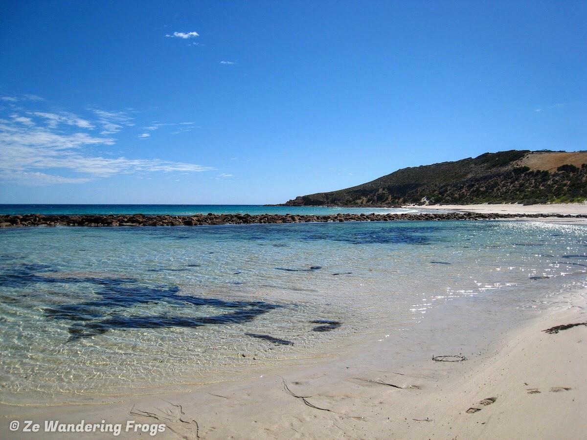 Inviting Stokes Bay lagoon
