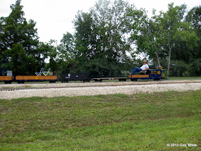 Photo: George Leventon is building a Sweet Creek and his interest in Brent's is high.    HALS Public Run Day 2013-0921 RPW