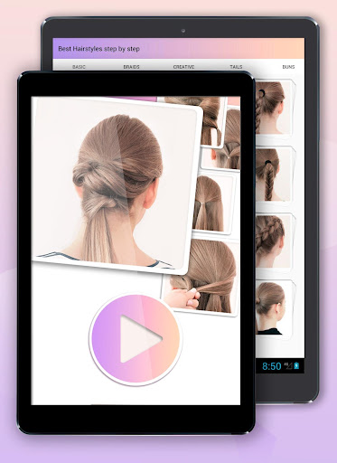 Hairstyles step by step 1.23 screenshots 11