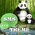 Panda Theme GO SMS Pro