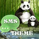 Panda Theme GO SMS Pro icon