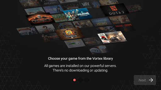 Vortex Cloud Gaming 1.0.252 screenshots 1
