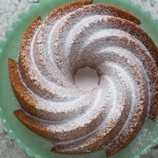 Vanilla Almond Tea Cake.