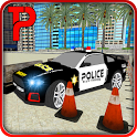 Impossible Police Car Parking icon