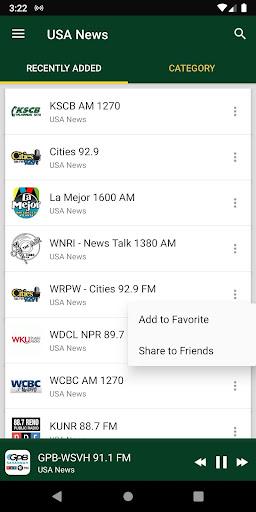 US News Radio Stations 🇺🇸 ss1