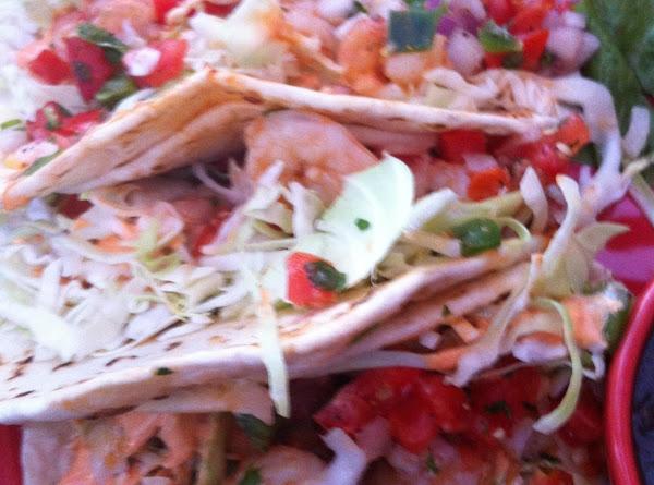 Poodle's Shrimp Tacos Recipe