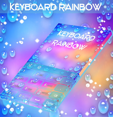 Rainbow Keyboard with emojis 1.181.1.8 screenshot 2092270