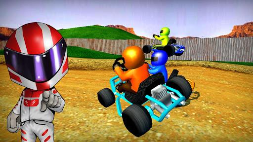 Rush Kart Racing 3D  gameplay | by HackJr.Pw 6