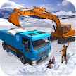 Snow Excavator Dredge Simulator - Rescue Game APK