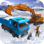 Snow Excavator Dredge Simulator - Rescue Game icon