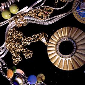 Sunburst by Eric Eldritch - Artistic Objects Jewelry ( sunburst, jewelry, woodstock ny, sun, necklace, circle, pwc79 )