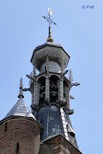 Photo: Het carillon met de 'Hemony' klokken van de Zaltbommelse Gasthuistoren (foto PvK - 07/2010)