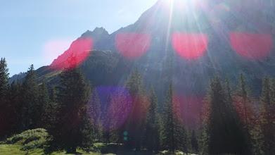 Photo: A Schreckhorn útját állja a napsugaraknak