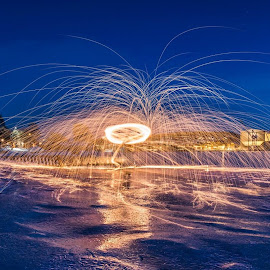 by Kai Brun - Abstract Light Painting