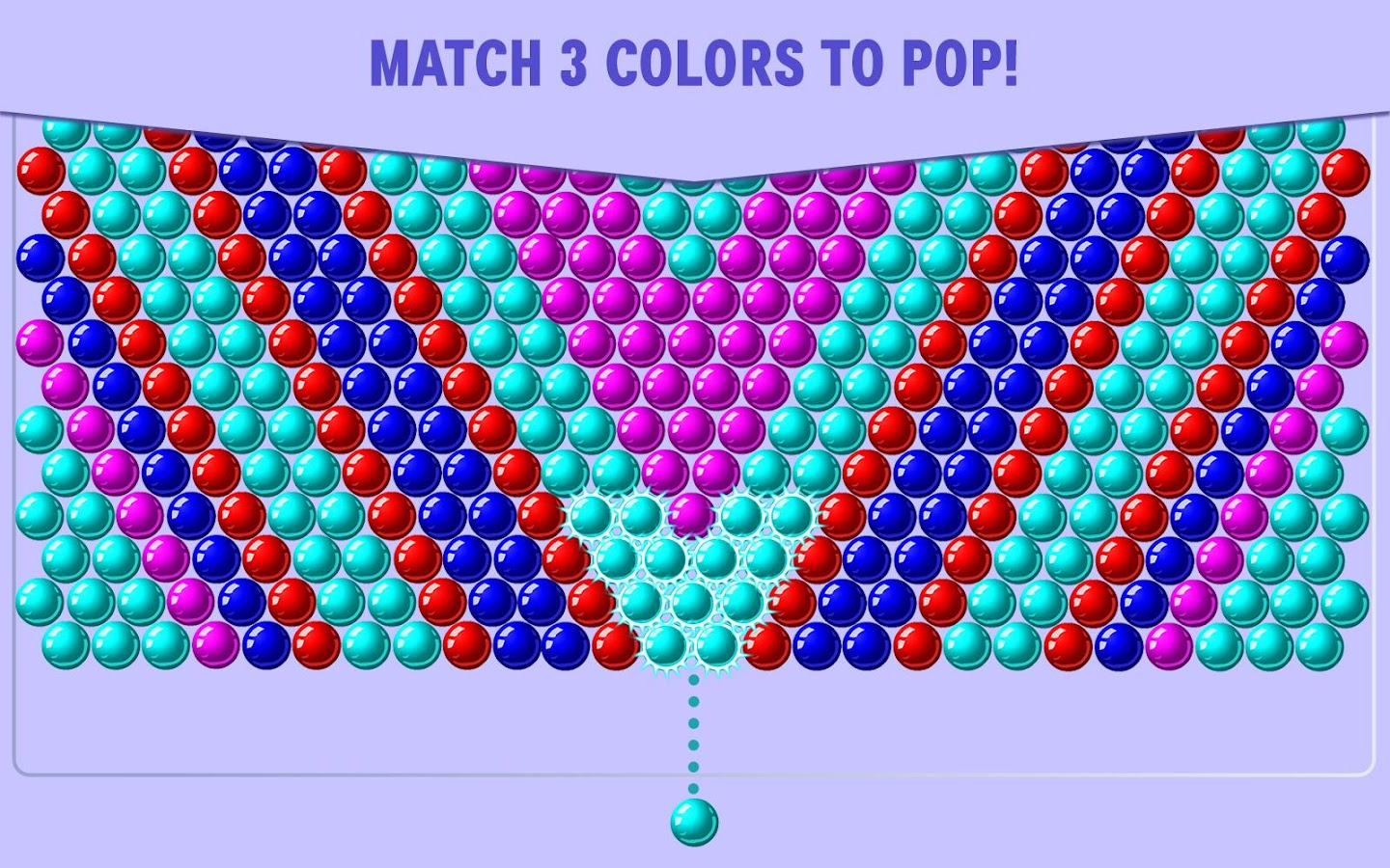 Bubble Shooter Click here to play BubbleShooter for free