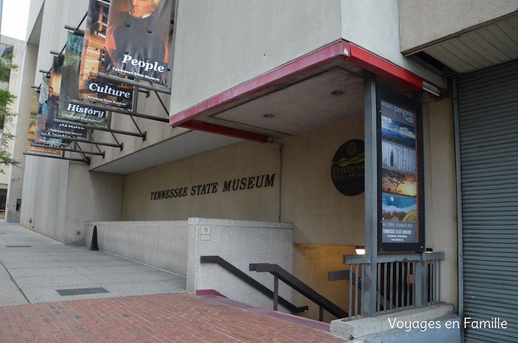 tennessee State Museum - Nashville