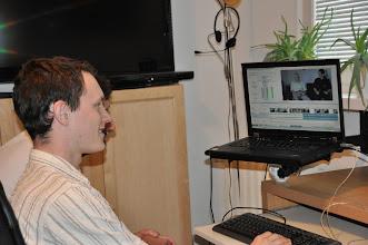 Photo: Stříhání dokumentu (úterý 2. srpen 2011).