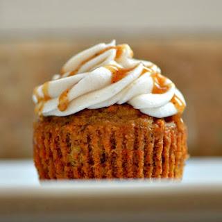 Vegan Carrot Cupcakes.