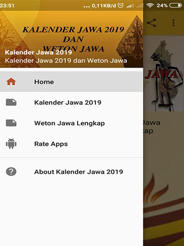 Kalender Jawa 2019 1.1 screenshots 1
