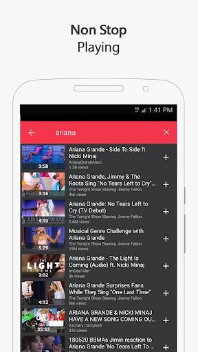 Free music for YouTube: MIXI 1.0.4 screenshots 4