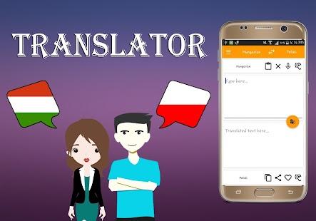 Hungarian To Polish Translator - náhled