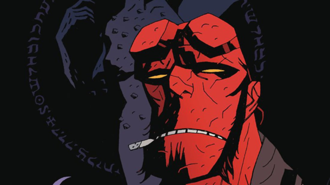 Image result for hellboy mike mignola""