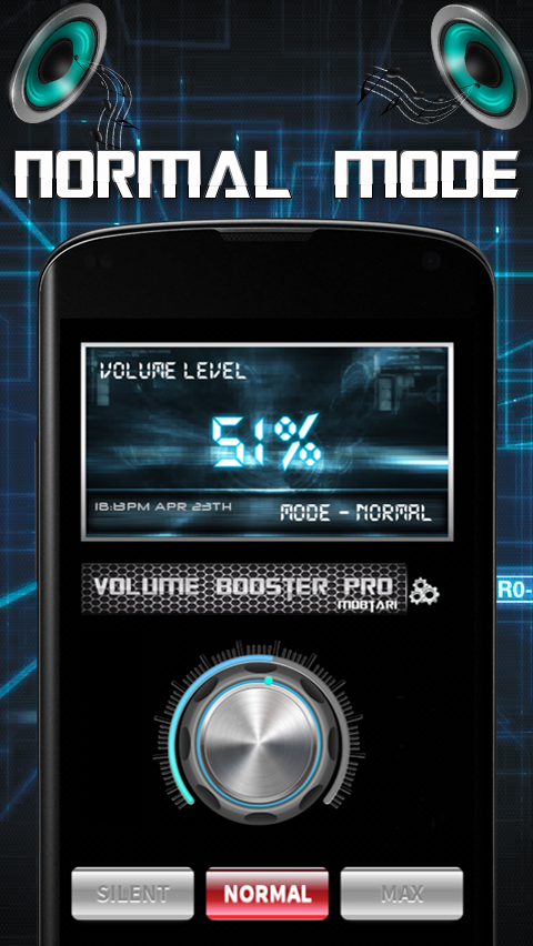 Volume Booster Pro- screenshot