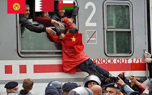 ảnh chế Việt Nam Asia Cup 2019