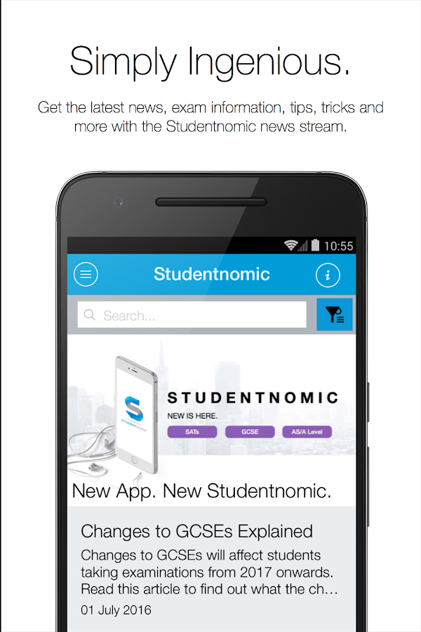 Studentnomic- screenshot