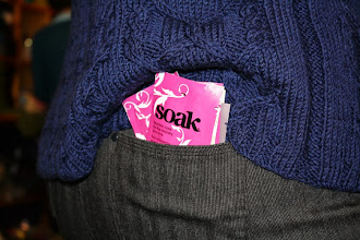 Photo: Much thanks to the lovely people at SOAK who provided us with minis for our very Soak Worthy Sweaters!