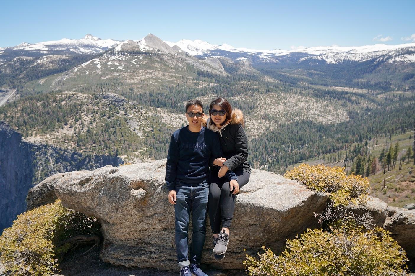 Yosemite National Park Couple