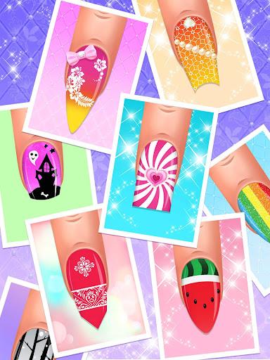 Nail Salon : Nail Designs Nail Spa Games for Girls  screenshots 17