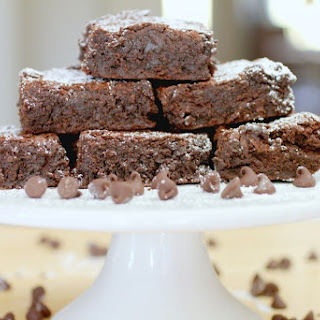 Rich & Thick Homemade Brownies.