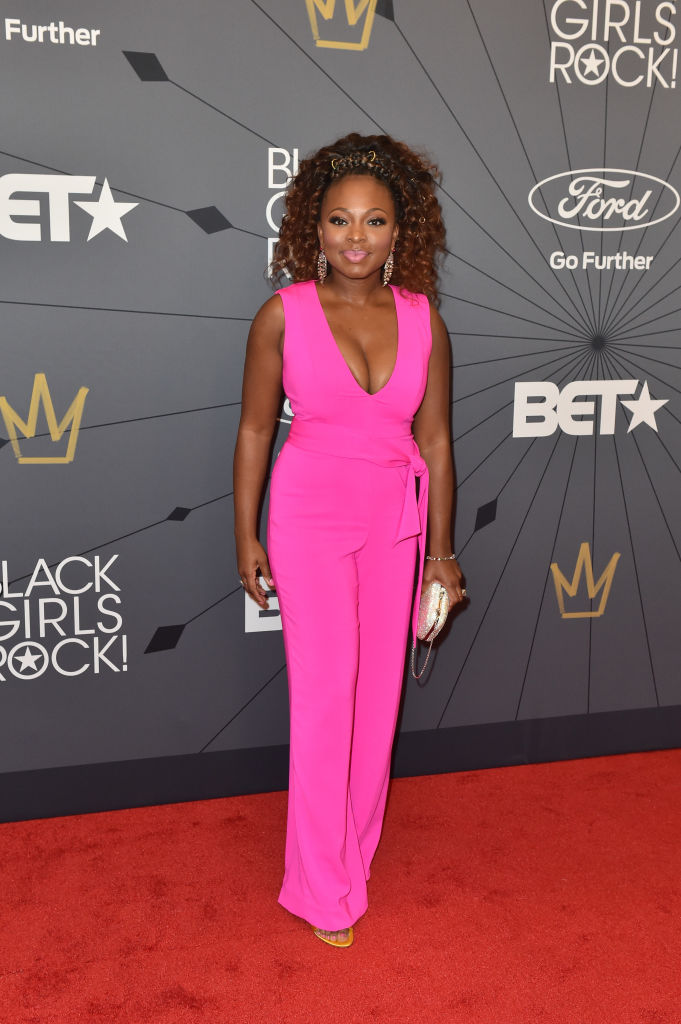 Naturi Naughton at the 2018 BET Black Girls Rock! Awards.