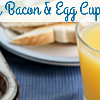Easy Bacon & Egg Cups