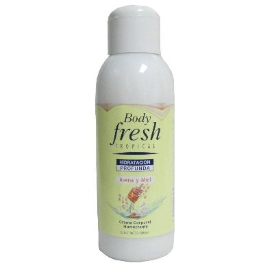 crema corporal body fresh avena 500ml