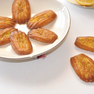 Low Carb Madeleine Cookies.