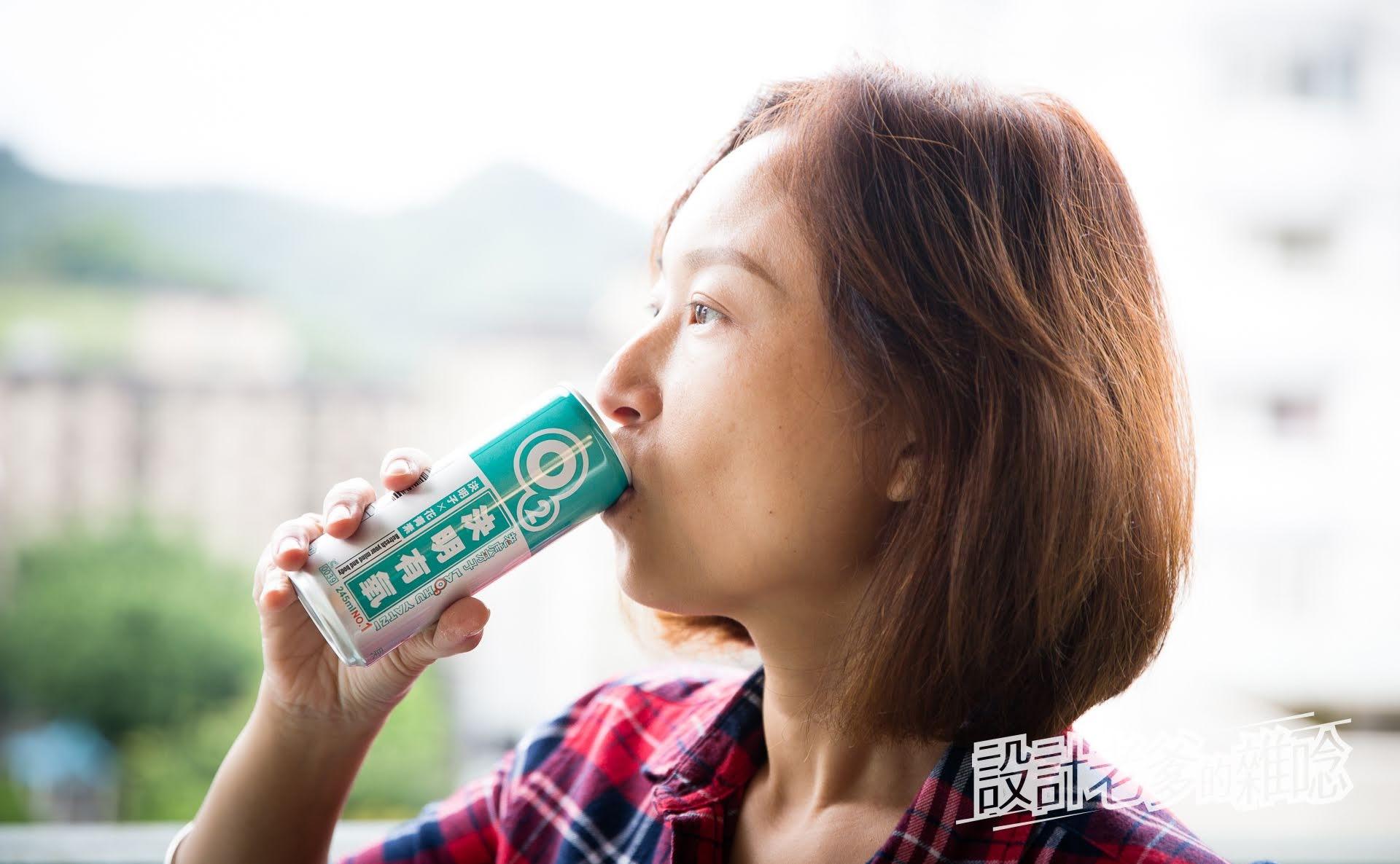 老虎牙子決明有氧飲...設計給總是不規律又耗損的上班族的飲料喔!