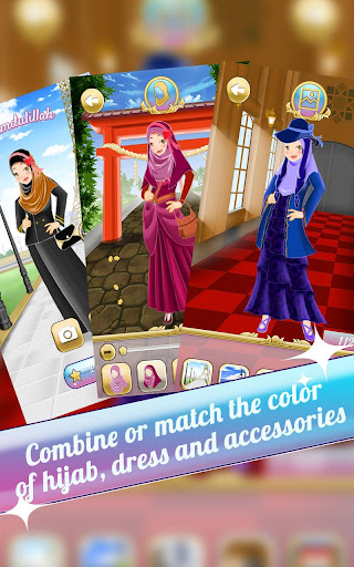 Hijab Dress Up Muslimah Series