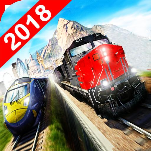 Euro Fast Train Racing Simulator 2018
