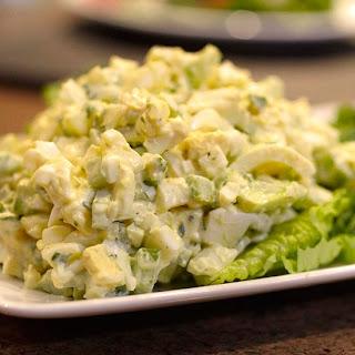 (MAYO-FREE) Avocado Egg Salad
