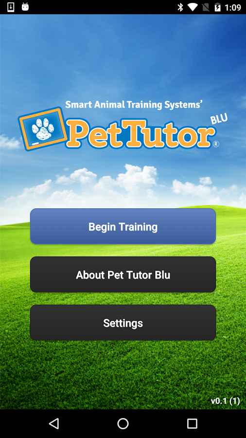 Pet Tutor Blu- screenshot