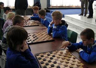Photo: Schooldamtoernooi gemeente Velsen. 16 November 2011.(foto Sjaak van der Sel)