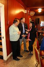 Photo: Richard Albert, Mike Swayne, and Lan Chi Nguyen Weekes