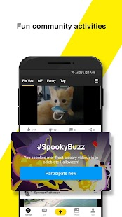 BuzzVideo - Funny Comment Community Screenshot