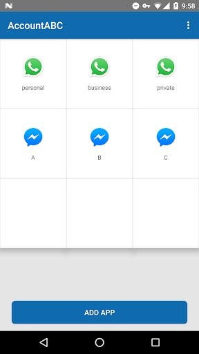 Clone app - Run multiple accounts 8.3 screenshots 1