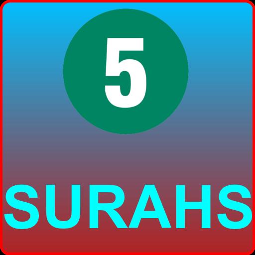 FIVE SURAH AUDIO BEST RECITATION (OFFLINE) – Apps